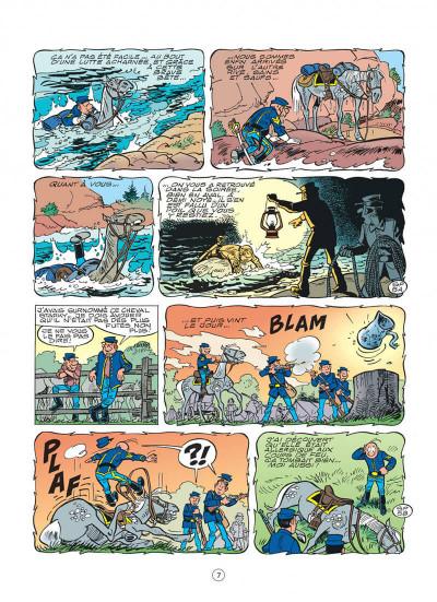 Page 7 les tuniques bleues tome 48 - arabesque