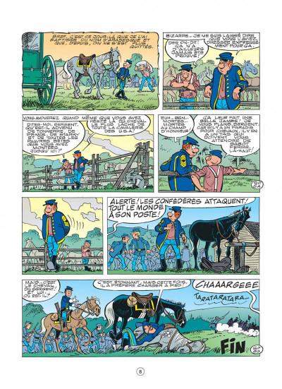 Page 8 les tuniques bleues tome 48 - arabesque