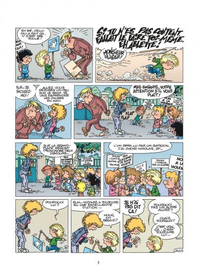 Page 5 cédric tome 19 - on se calme !