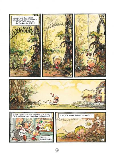 Page 5 jojo tome 14 - la ballade des quatre saisons