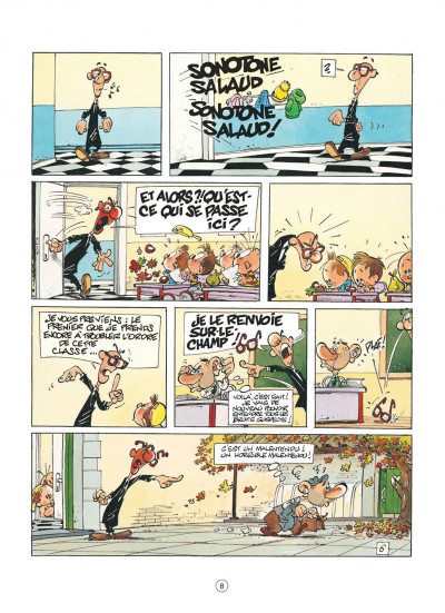 Page 8 jojo tome 14 - la ballade des quatre saisons