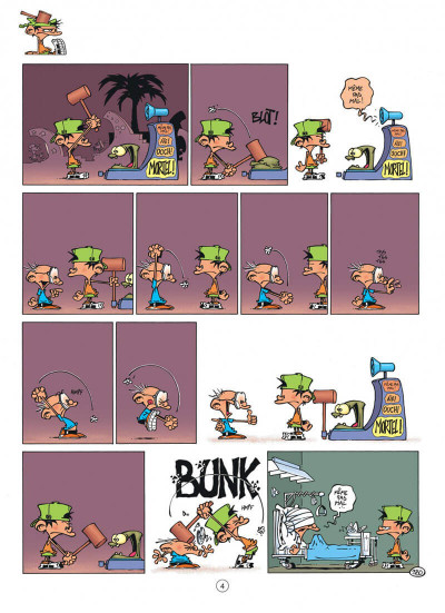 Page 4 Kid Paddle tome 10