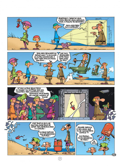 Page 7 Kid Paddle tome 10