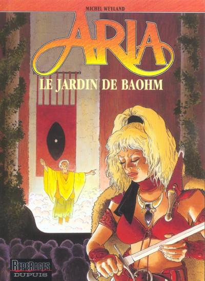 Couverture aria tome 26 - le jardin de baohm