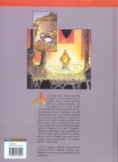 Dos aria tome 26 - le jardin de baohm