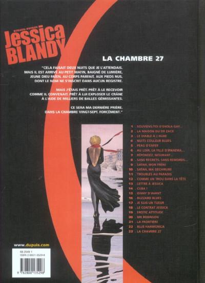 Dos Jessica Blandy tome 23 - la chambre 27