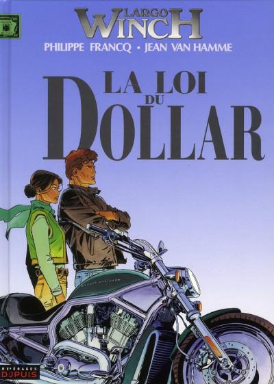Couverture largo winch tome 14 - la loi du dollar