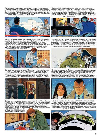 Page 2 largo winch tome 14 - la loi du dollar