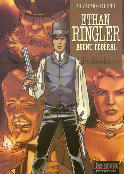 image de ethan ringler, agent fédéral tome 1 - tecumska