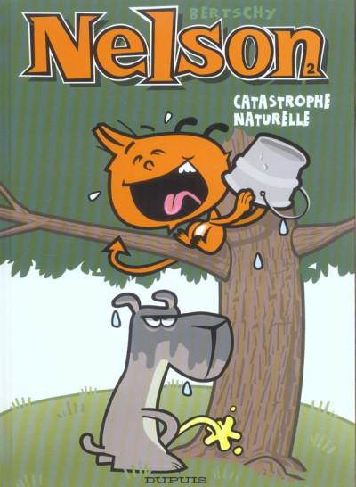 Couverture nelson tome 2 - catastrophe naturelle
