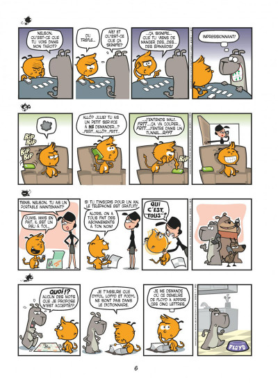 Page 6 nelson tome 2 - catastrophe naturelle