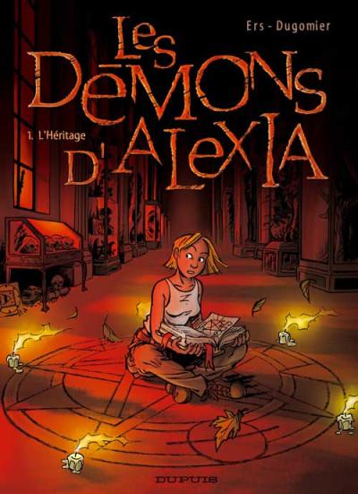 image de les démons d'alexia tome 1 - l'héritage