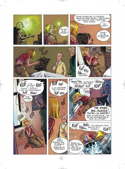 Page 4 les démons d'alexia tome 1 - l'héritage