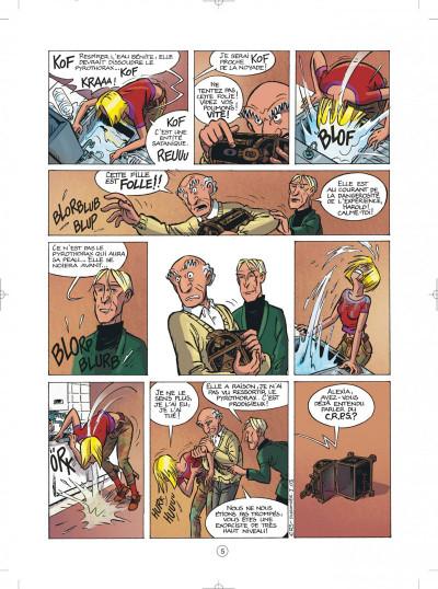 Page 5 les démons d'alexia tome 1 - l'héritage