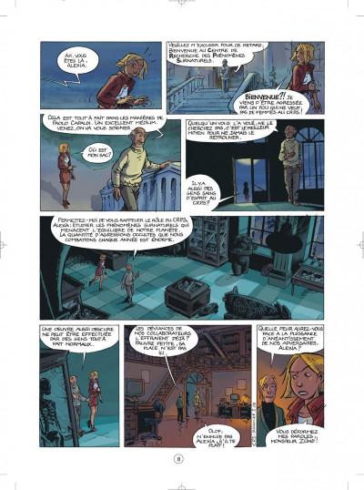 Page 8 les démons d'alexia tome 1 - l'héritage