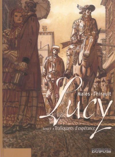 Couverture Lucy tome 1 - trafiquants d'espérance