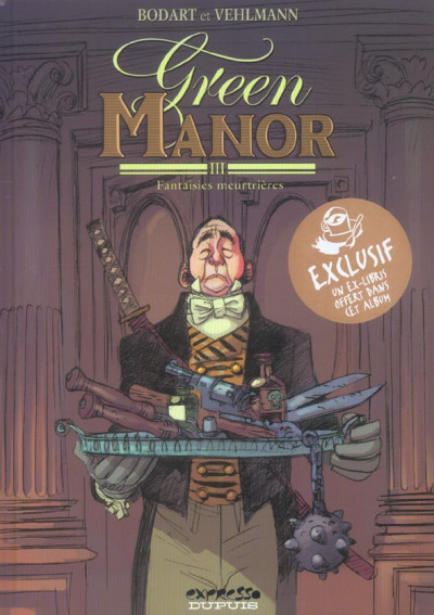 Couverture green manor tome 3 - fantaisies meurtrières