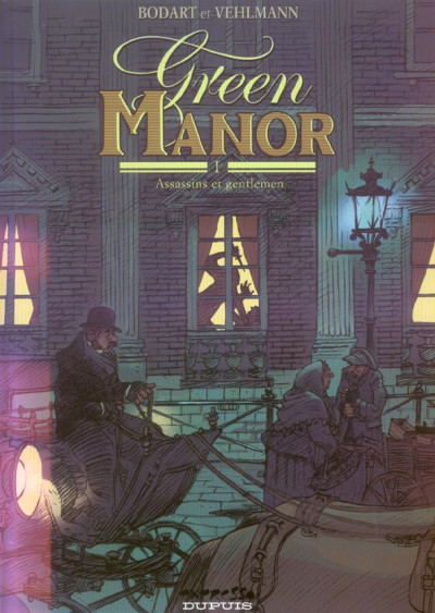 Couverture green manor tome 1 - assassins et gentlemen