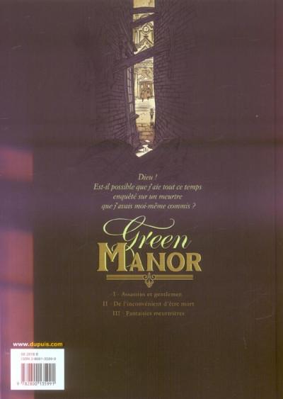 Dos green manor tome 1 - assassins et gentlemen