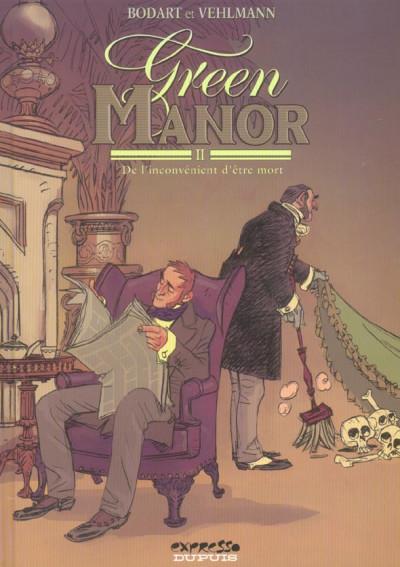 Couverture green manor tome 2 - de l'inconvenient d'être mort