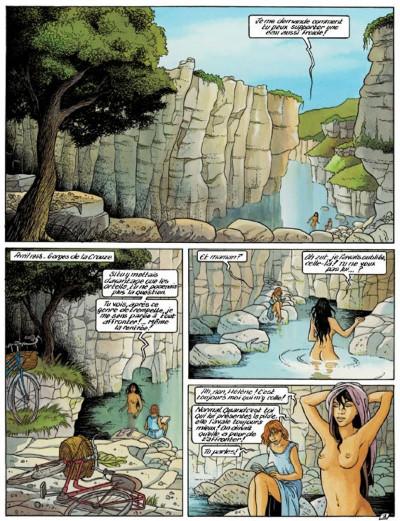 Page 1 secrets, l'écharde tome 1