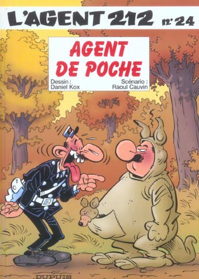 image de l'agent 212 tome 24 - agent de poche