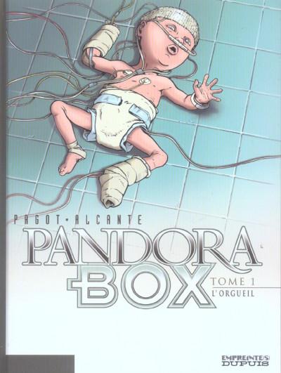 image de pandora box tome 1 - l'orgueil