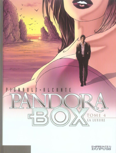 Couverture pandora box tome 4 - la luxure