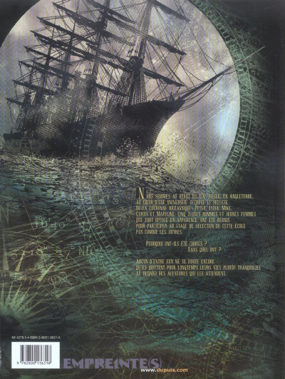 Dos les corsaires d'alcibiade tome 1 - elites secrètes