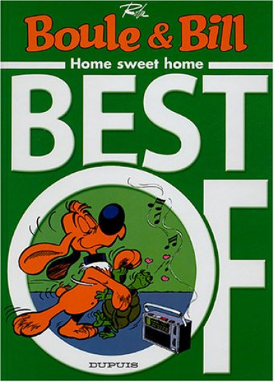 Couverture Boule et Bill - best of tome 4 - home sweet home