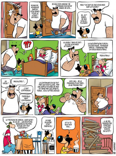 Page 1 parker & badger tome 3 - passage de blaireaux