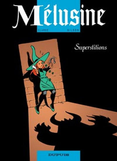 Couverture melusine tome 13 - superstitions