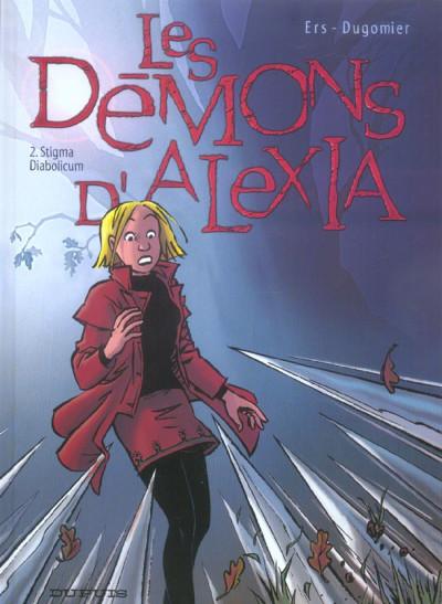 Couverture les démons d'alexia tome 2 - stigma diabolicum
