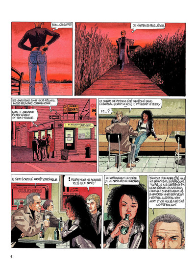 Page 5 Jessica Blandy tome 24 - les gardiens