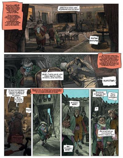 Page 1 dans les villages tome 5 - l'école de la cruauté