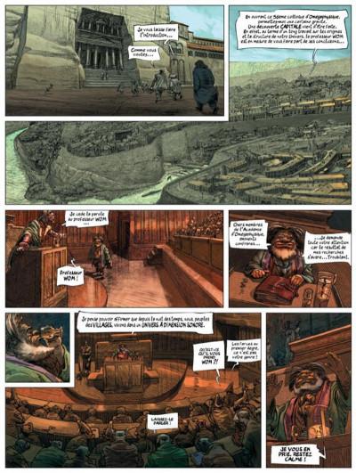 Page 2 dans les villages tome 5 - l'école de la cruauté