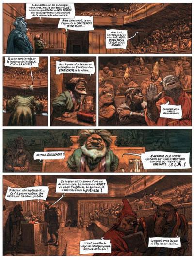 Page 3 dans les villages tome 5 - l'école de la cruauté