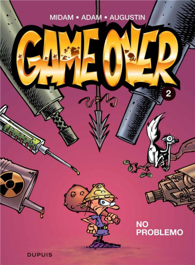 Couverture game over tome 2 - no problemo