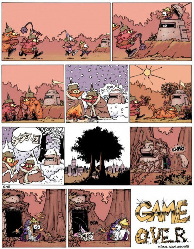 Page 1 game over tome 2 - no problemo