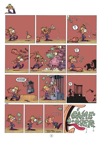 Page 8 game over tome 2 - no problemo