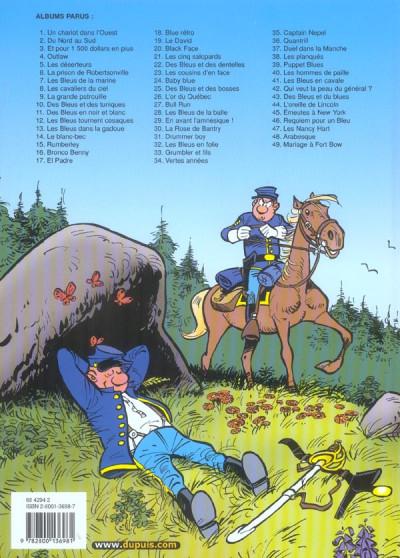 Dos les tuniques bleues tome 49 - mariage à fort bow
