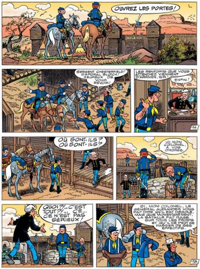 Page 1 les tuniques bleues tome 49 - mariage à fort bow