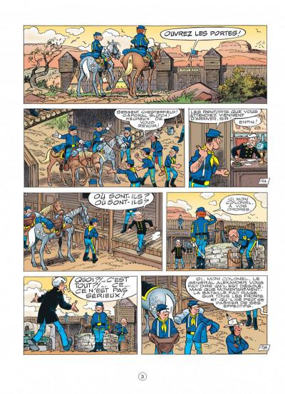 Page 3 les tuniques bleues tome 49 - mariage à fort bow