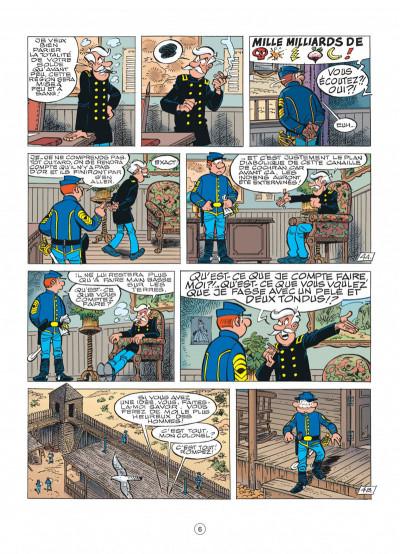 Page 6 les tuniques bleues tome 49 - mariage à fort bow