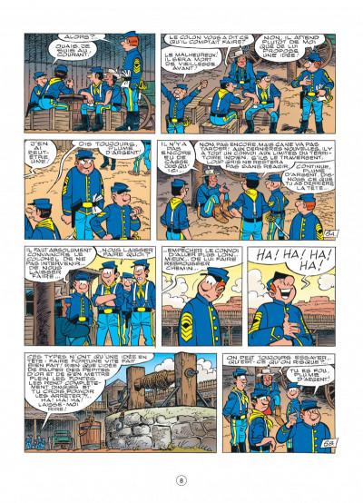 Page 8 les tuniques bleues tome 49 - mariage à fort bow