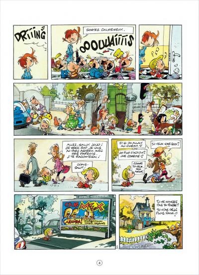 Page 4 jojo tome 15 - une fiancée pour papa