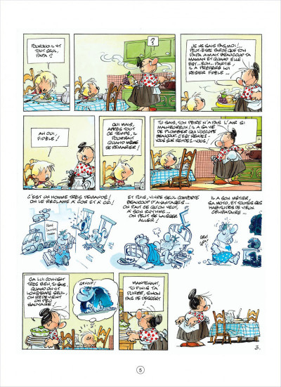 Page 5 jojo tome 15 - une fiancée pour papa