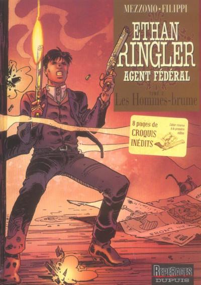 image de ethan ringler, agent fédéral tome 2 - les hommes-brume