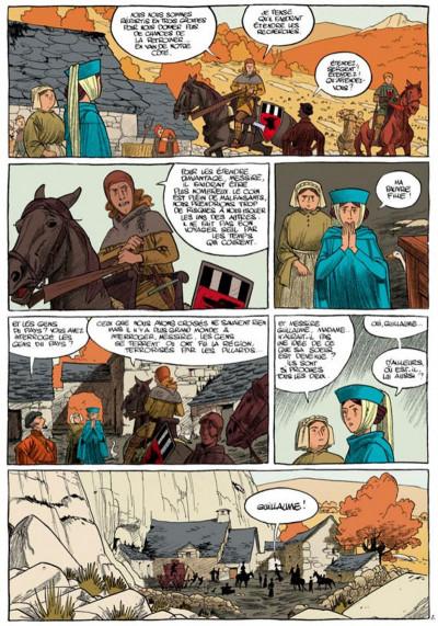 Page 2 messire guillaume tome 1 - les contrées lointaines