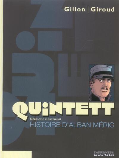 image de quintett tome 2 - histoire d'alban méric